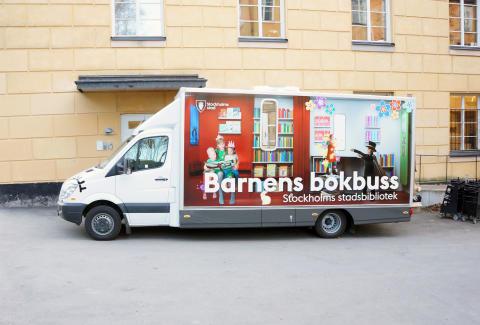 Barnens bokbuss pressbild