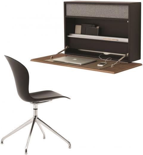 Cupertino Wall Office - der clevere Schreibtisch