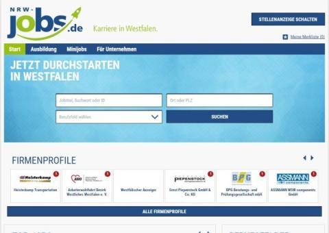 Jobs aus Westfalen für Westfalen