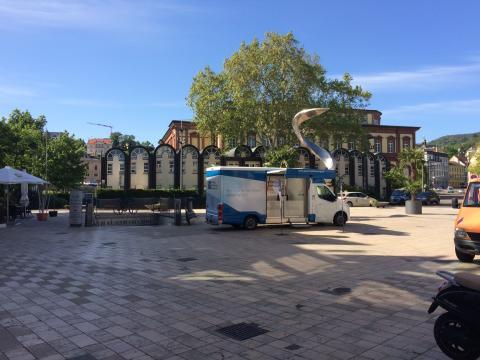 Beratungsmobil der Unabhängigen Patientenberatung kommt am 30. Juli nach Neustadt an der Weinstraße