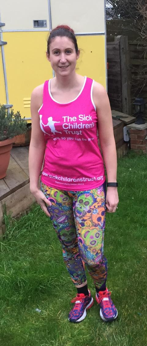 Amazing Auntie steps up for charity in London Marathon