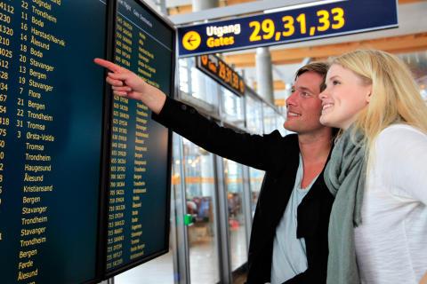 Gode passasjertall på Oslo Lufthavns 14-årsdag
