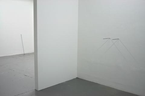 """Per Kesselmar: """"Manipulated Shadows"""". Installationview, Galleri Fagerstedt, 2015"""