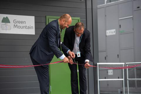 Ribbon Cutting - Green Mountain & Volkswagen Opening 2019