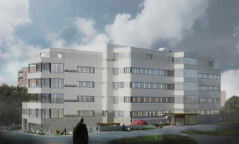 Skanska bygger ny sjukhusbyggnad i Karlskrona för cirka 330 miljoner kronor