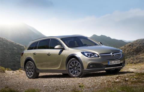En ny Opel Insignia: Country Tourer redo för äventyr