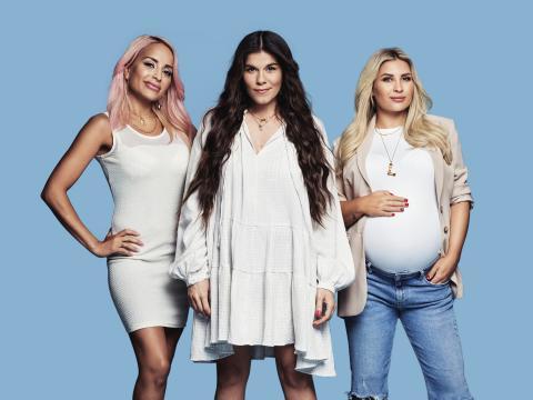Kjendismødre – premiere på Viafree og TV3