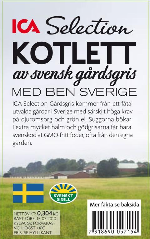 LRF och Svenskt Sigill är med och tar fram ett nytt premiumsortiment - Gårdsgrisen