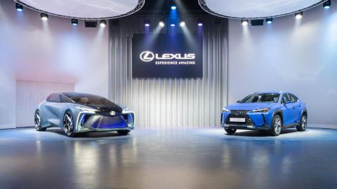 LF-30 og UX 300e
