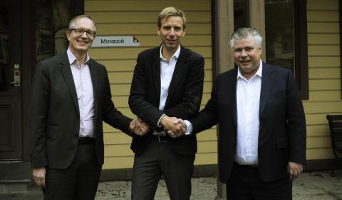 Jönköping Energi bygger ny panna för ångproduktion till Munksjös papperstillverkning