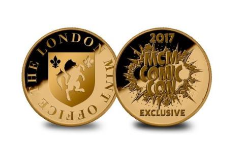 COMIC CON AUDIENCE WILL MARVEL AT NEW LONDON MINT OFFICE COMICOINS