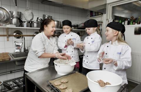 Förskolan Skogsbacken i Svenshögen finalist i Arla Guldko® 2017