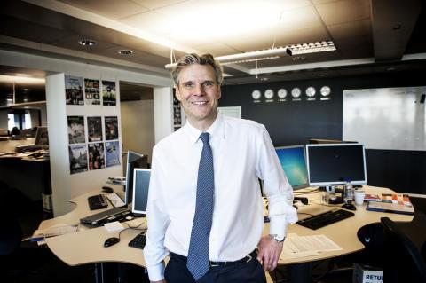 Johan Hansson blir Stampen Medias nya vd