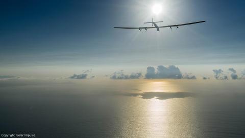 Nestlé gir energi til Solar Impulse