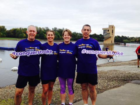 Together We Can Conquer Stroke celebrated at Resolution Run in Glasgow