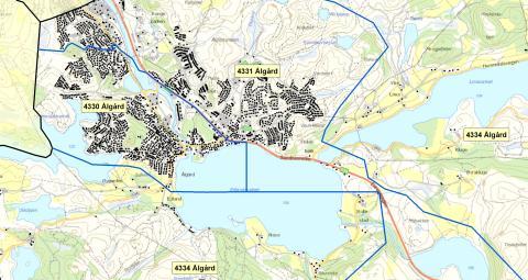 4330 Ålgård  - postnummerinndeling