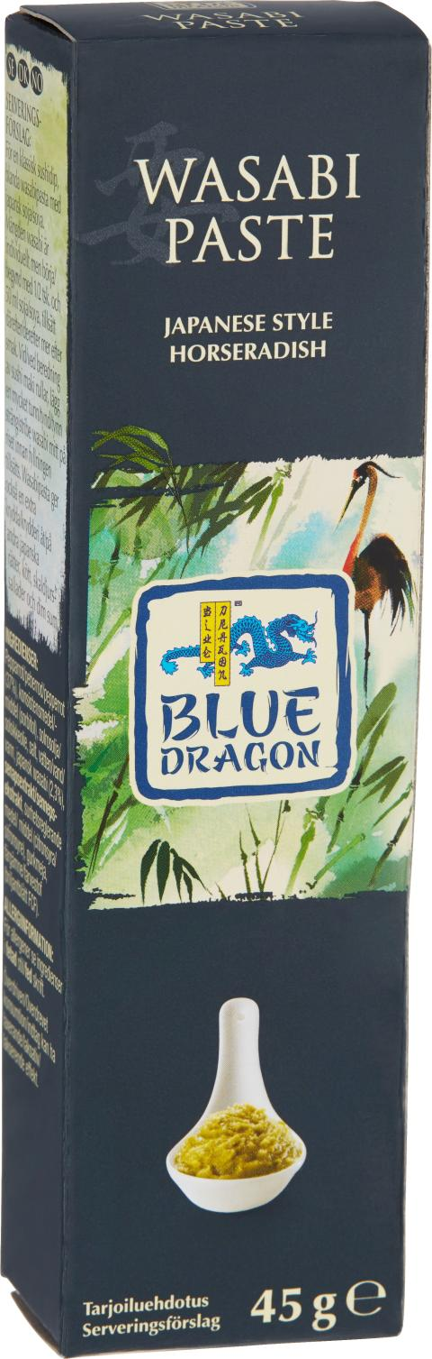 Blue Dragon Wasabipasta