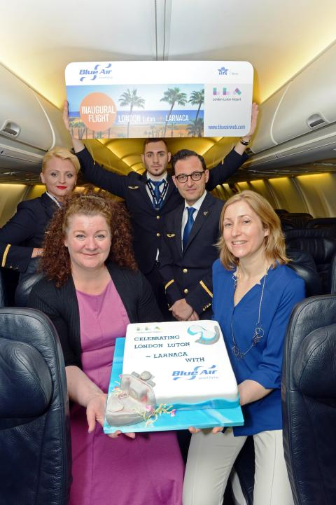 LLA welcomes second Blue Air route in as many months
