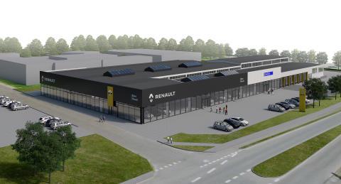 Ejner Hessel åbner nordens største Renault og Dacia forretning