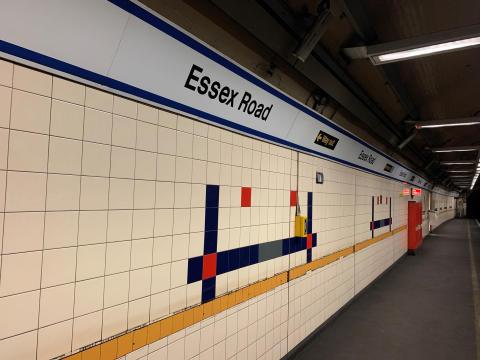 Essex Road's old tiles