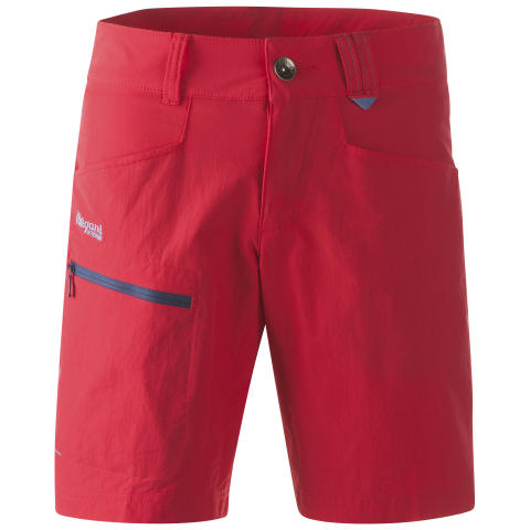 Utne Lady Shorts - Hot Red/Dusty Blue