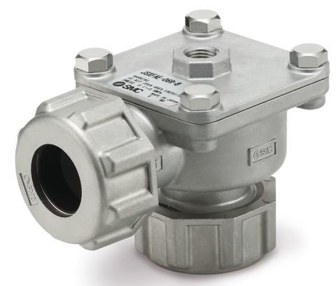 Effektivare renblåsning av filter med ny ventil