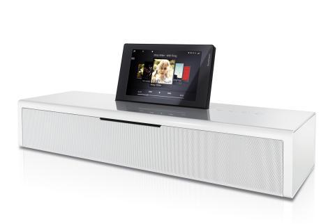 Elegant och prisvinnande ljudanläggning från Loewe introduceras nu i ny färg: Högglans vit