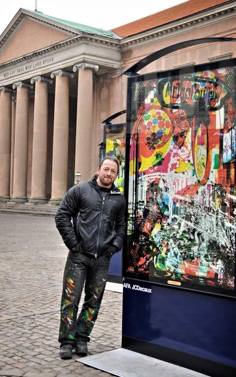 Konstnären Per Josephson skänker 1 000 verk till We Effect