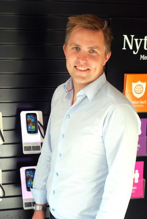 Johan Gertell ny direktör för digitala kanaler på 3