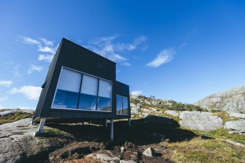 Premiär för Norges nya arkitektritade fjällhytta: Nye Skåpet