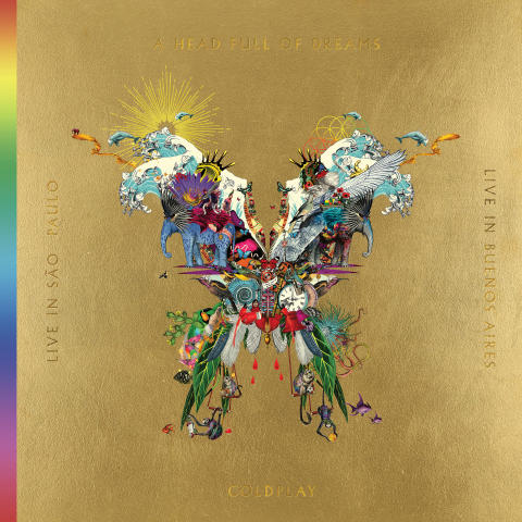 Coldplay - Live In Buenos Aires / Live In Sao Paulo / A Head Full Of Dreams artwork