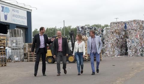 Samlade telekominköp via RingUp portal - Vinst för återvinningsföretaget