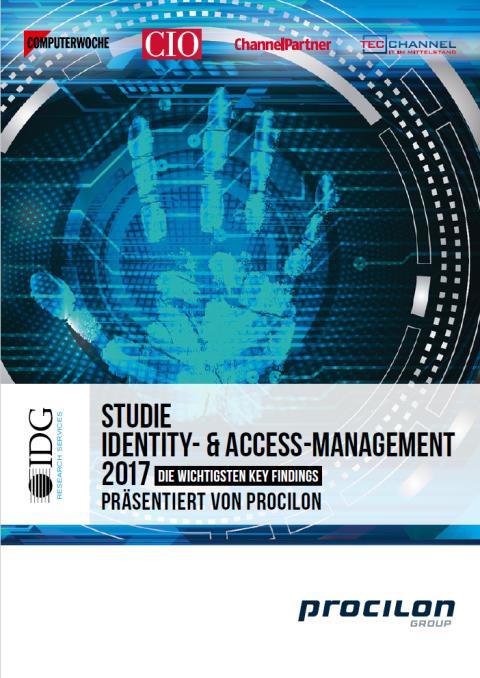 Identity Access Management Studie von IDG Research Services in Zusammenarbeit mit procilon