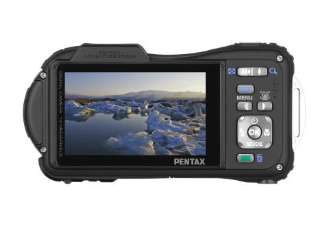 Pentax Optio WG-1 bak