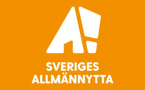 Sveriges Allmännytta logotyp stående färg