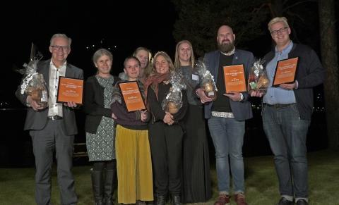 Grattis alla vinnare av Årets Landsbyggare Höga Kusten!