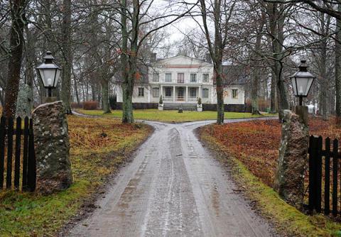 Nya galoppbanan i Upplands-Bro Kommun