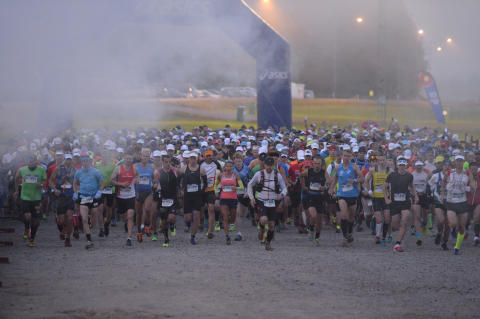 Ultravasans start i Sälen kl 05.00 2015