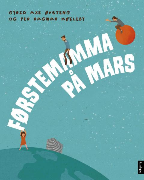 Førstemamma på Mars - Biletbok om mamma som er sjuk