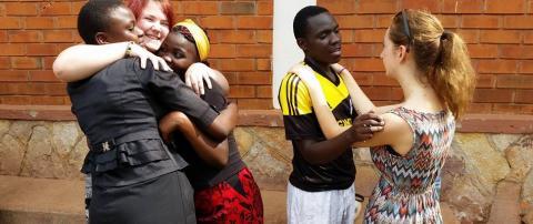 KLARA-elever vill förändra bilden av Uganda och Rwanda