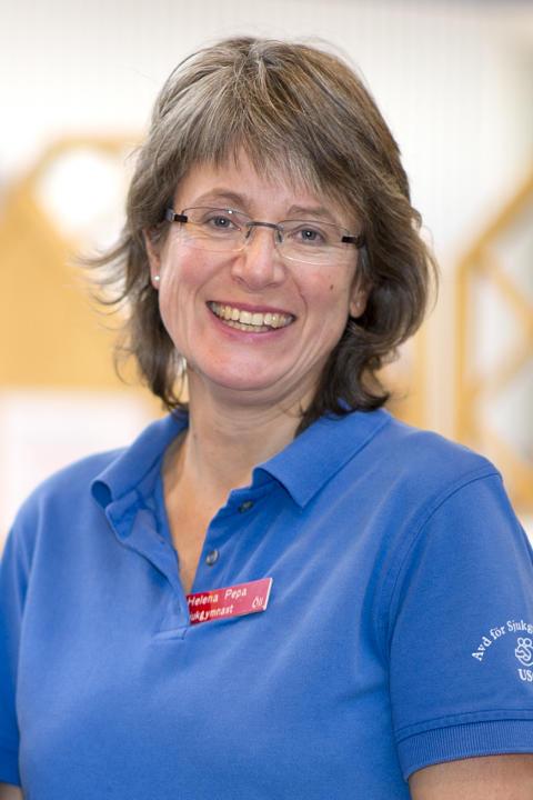 Helena Pepa, verksamhetschef