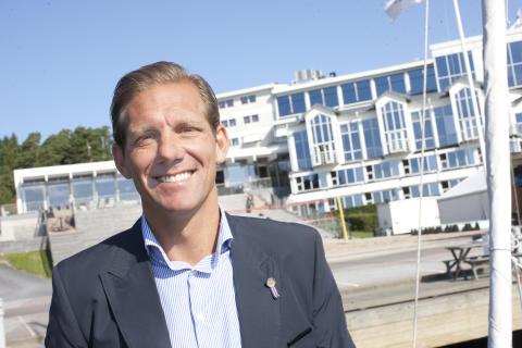 Ny kapten på Stenungsbaden – Patric E Österström tar rodret