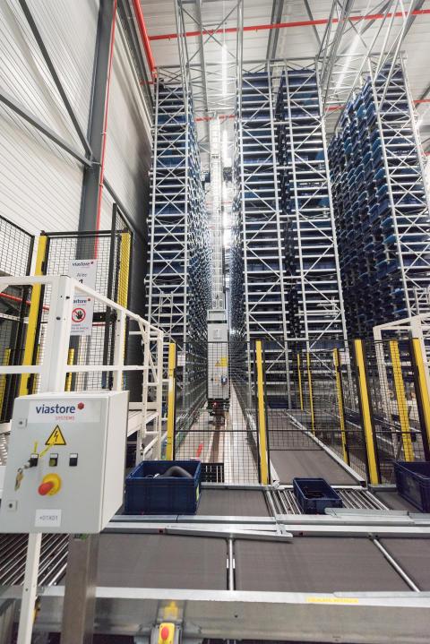 CLAAS har investerat i ett helautomatiskt komponentlager.