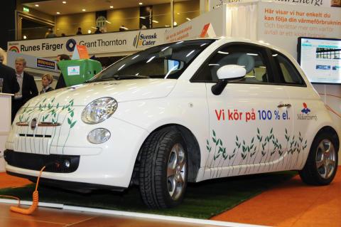 Mälarenergi och lokal tillverkare av laddstolpe ser ljust på elbilens framtid