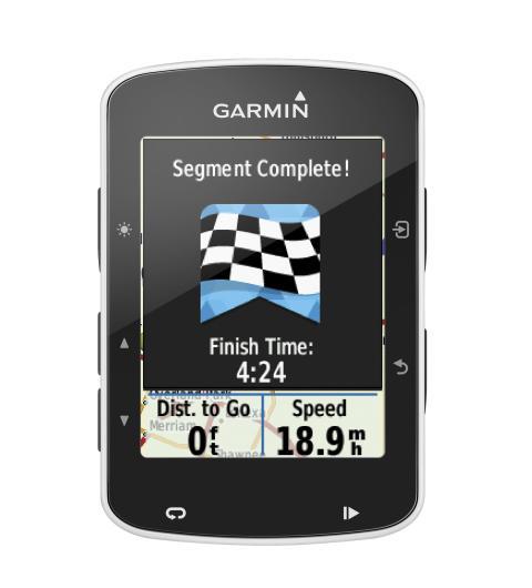 Ta ledningen med nya Edge® 520 från Garmin® – vår första cykeldator med GPS och Strava live segment