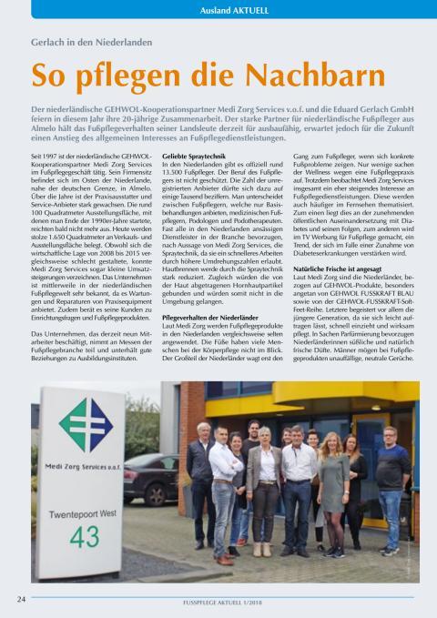 Gerlach in den Niederlanden: So pflegen die Nachbarn