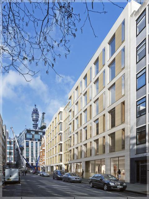 Skanska bygger kommersiell fastighet i London, UK, för 550 miljoner kronor