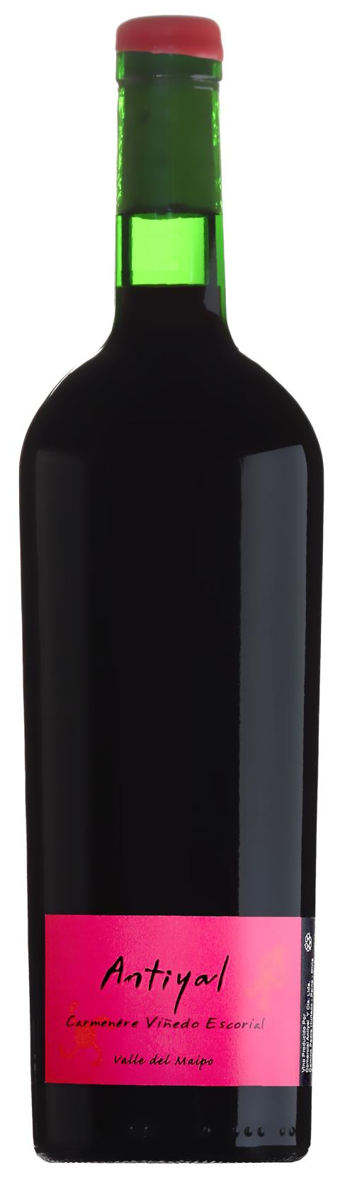 Antiyal Carmenere Viñedo Escorial 2014
