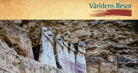 Nyhet från Världens Resor: Storslagen Peruresa i fyra kulturers fotspår