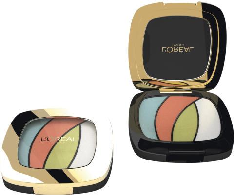 L'Oréal Paris Color Riche Quads Eyeshadow Palette - Tropical Tutu